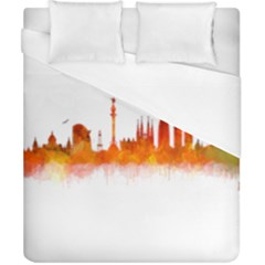 Barcelona 02 Duvet Cover Single Side (double Size)