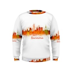 Barcelona City Art Boys  Sweatshirts