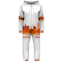 Barcelona City Art Hooded Jumpsuit (Ladies)