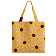 Sunflowers Everywhere Grocery Tote Bags