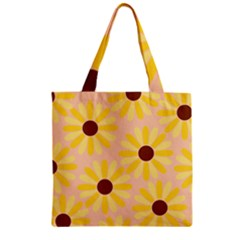 Sunflowers Everywhere Zipper Grocery Tote Bags