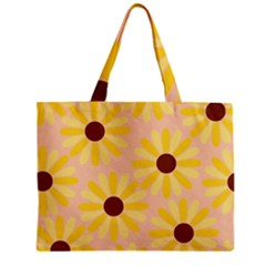 Sunflowers Everywhere Zipper Tiny Tote Bags