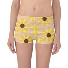 Sunflowers Everywhere Boyleg Bikini Bottoms