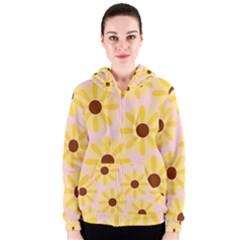 Sunflower Women s Zipper Hoodies