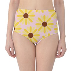 Sunflower High Waist Bikini Bottoms