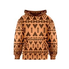 Tribal Print Hippie Pattern  Kid s Pullover Hoodies