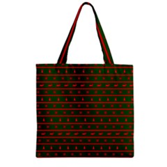 Ugly Christmas Sweater  Zipper Grocery Tote Bags