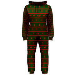 Ugly Christmas Sweater  Hooded Jumpsuit (Ladies)