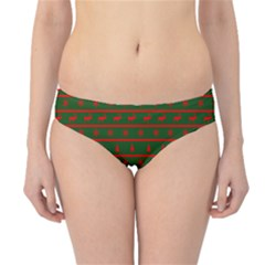 Ugly Christmas Sweater  Hipster Bikini Bottoms