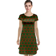 Ugly Christmas Sweater  Cap Sleeve Nightdresses