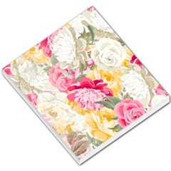 Colorful Floral Collage Small Memo Pads