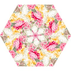 Colorful Floral Collage Mini Folding Umbrellas