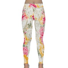 Colorful Floral Collage Yoga Leggings