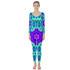 Bent Ask Psy 517bdeghi Long Sleeve Catsuit
