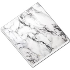 White Marble Stone Print Small Memo Pads