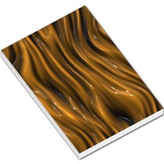 Shiny Silk Golden Large Memo Pads