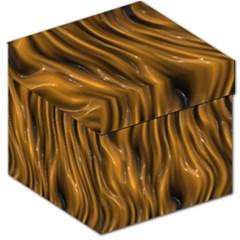 Shiny Silk Golden Storage Stool 12