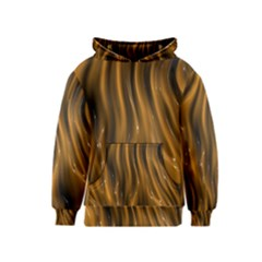 Shiny Silk Golden Kid s Pullover Hoodies