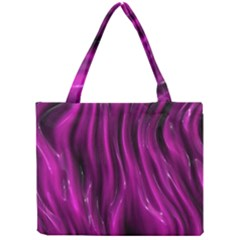 Shiny Silk Pink Tiny Tote Bags