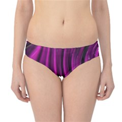 Shiny Silk Pink Hipster Bikini Bottoms