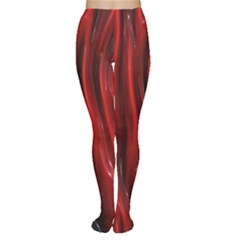 Shiny Silk Red Women s Tights