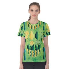 Lemons And Limes Women s Cotton Tees