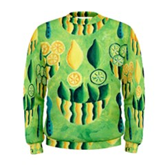 Lemons And Limes Men s Sweatshirts