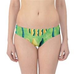 Lemons And Limes Hipster Bikini Bottoms