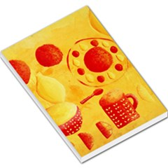 Lemons And Oranges With Bowls  Large Memo Pads