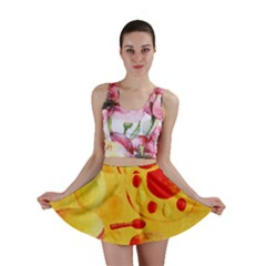 Lemons And Oranges With Bowls  Mini Skirts