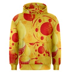 Lemons And Oranges With Bowls  Men s Pullover Hoodies