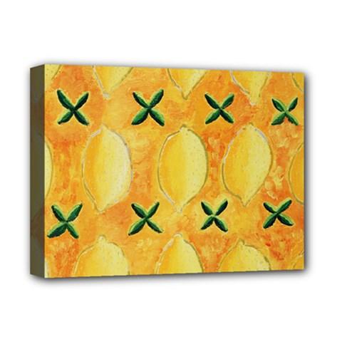 Lemons Deluxe Canvas 16  x 12
