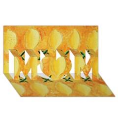 Lemons MOM 3D Greeting Card (8x4)