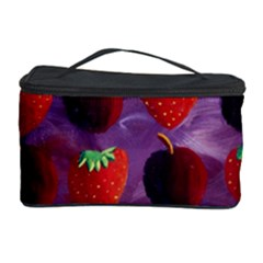 Strawberries And Plums  Cosmetic Storage Cases