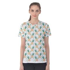 Pineapple Pattern 04 Women s Cotton Tees