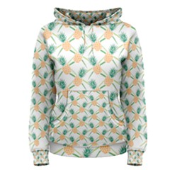 Pineapple Pattern 04 Women s Pullover Hoodies