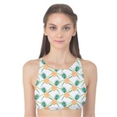 Pineapple Pattern 04 Tank Bikini Top