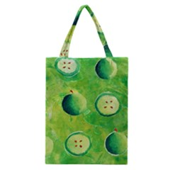 Apples In Halves  Classic Tote Bags