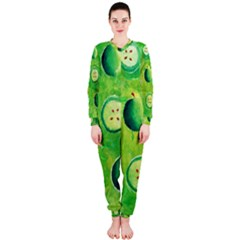 Apples In Halves  OnePiece Jumpsuit (Ladies)