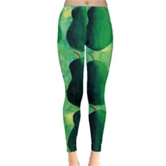 Apples Pears And Limes  Women s Leggings