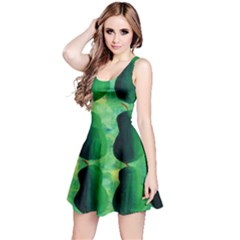 Apples Pears And Limes  Reversible Sleeveless Dresses