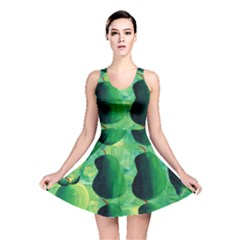 Apples Pears And Limes  Reversible Skater Dresses