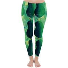 Apples Pears And Limes  Winter Leggings