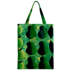 Apples Pears And Limes  Zipper Classic Tote Bags