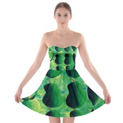 Apples Pears And Limes  Strapless Bra Top Dress