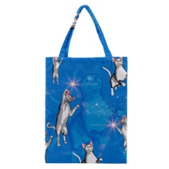Funny, Cute Playing Cats With Stras Classic Tote Bags