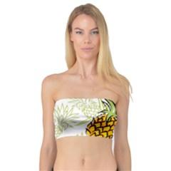 Pineapple Pattern 06 Women s Bandeau Tops