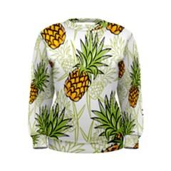 Pineapple Pattern 06 Women s Sweatshirts