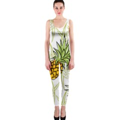 Pineapple Pattern 06 Onepiece Catsuits