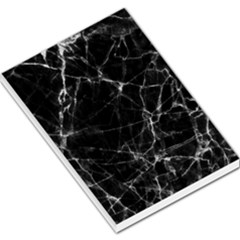 Black Marble Stone Pattern Large Memo Pads